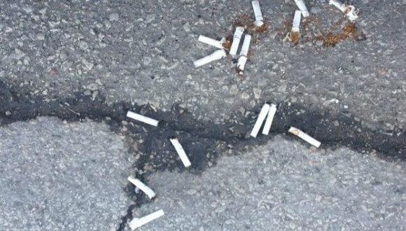 Sigaradan yol yapılacak!