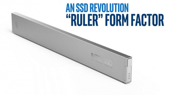 Intel'den cetvel gibi SSD form faktörü!