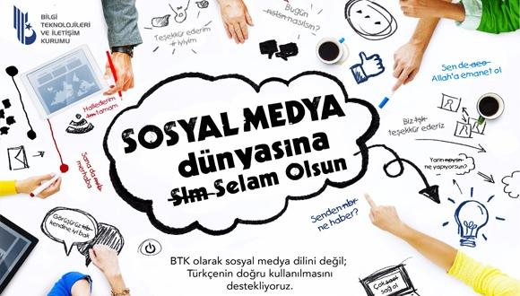 BTK'dan Sosyal Medyaya Selam Olsun!