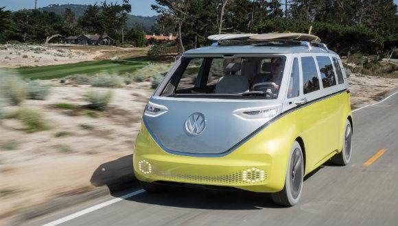 Volkswagen'den elektrikle çalışan ID Buzz!