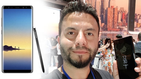 Samsung Galaxy Note 8 ile ilk buluşma (vLog)