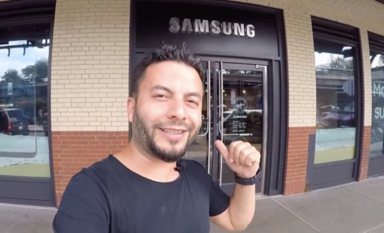 Samsung 837'de Türkiye sürprizi! (VİDEO)