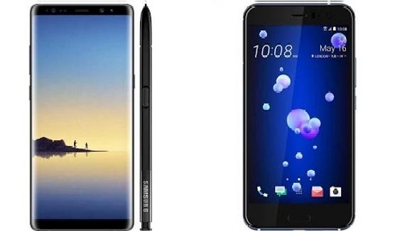 Note 8 ve HTC U11 karşılaştırma!