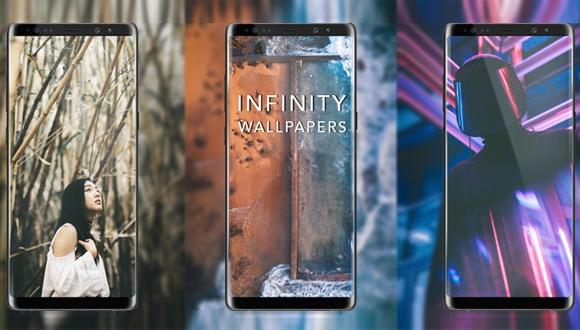 Galaxy Note 8, S8 ve S8+ için duvar kağıtları!
