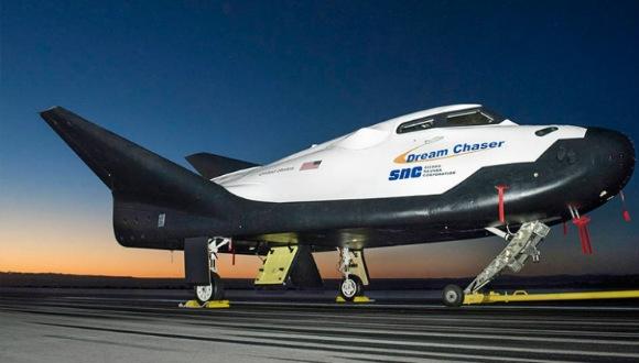 Tekrar kullanılabilen uzay aracı!
