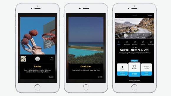 iOS fotoğrafçıları için Quickshot çıktı!