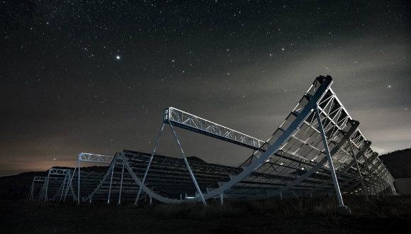 Hareketsiz radyo teleskobu!