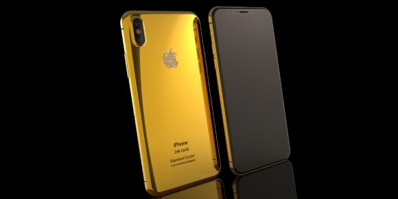 24K altın iPhone 8 ön siparişe açıldı!