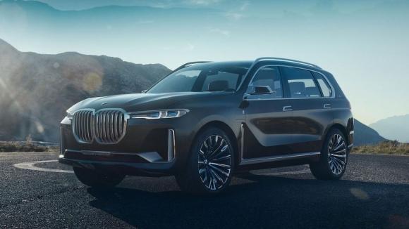 BMW X7 konsepti büyülüyor!
