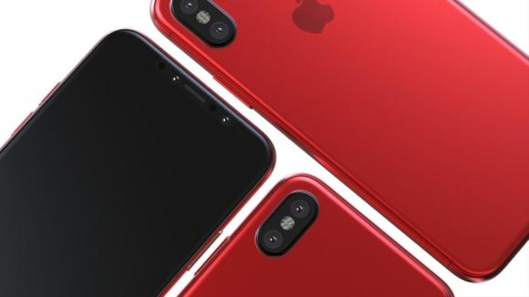 Kırmızı renk iPhone X ortaya çıktı!