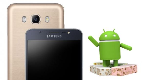 Galaxy J7 (2016) için Android Nougat çıktı!