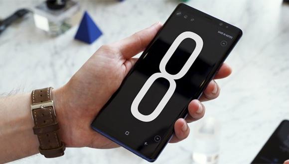 Galaxy Note 8 için ilk güncelleme yayınlandı!