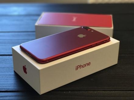 Kırmızı iPhone 7 üretimi durduruldu!