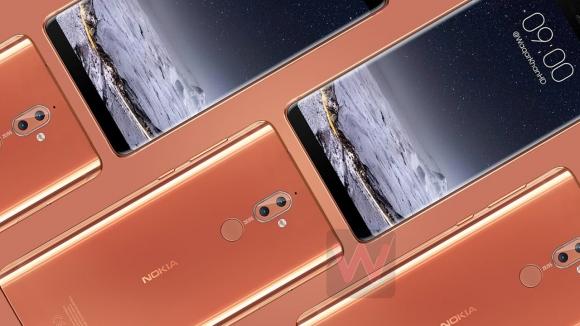 Çerçevesiz ekranlı Nokia 9 nasıl görünecek?
