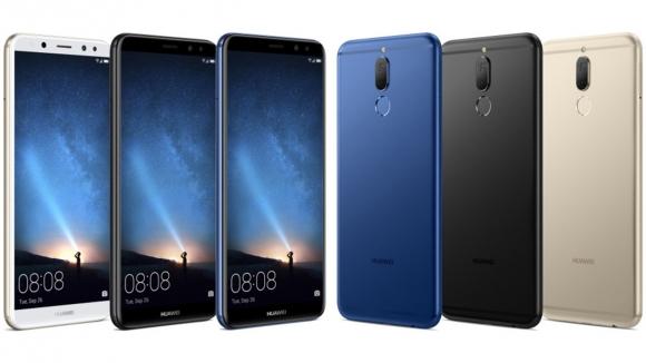 Huawei Mate 10 Lite sızdırıldı!