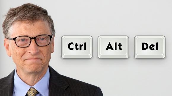 Bill Gates'in Ctrl+Alt+Delete pişmanlığı!