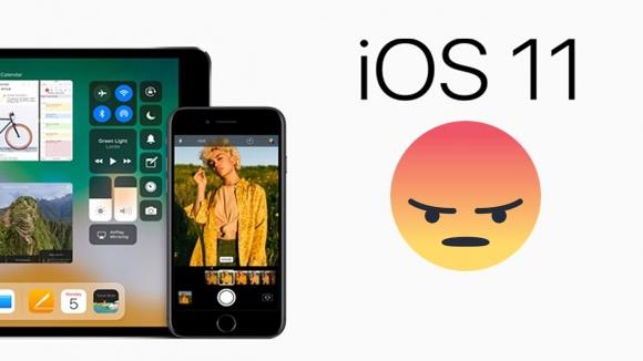 Kullanıcılar iOS 11'den şikayetçi!