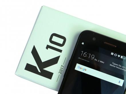 LG K10 (2017) kutusundan çıkıyor