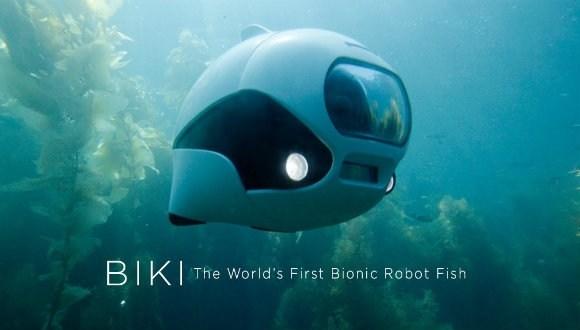Biyonik kablosuz su altı robotu geliştirildi!