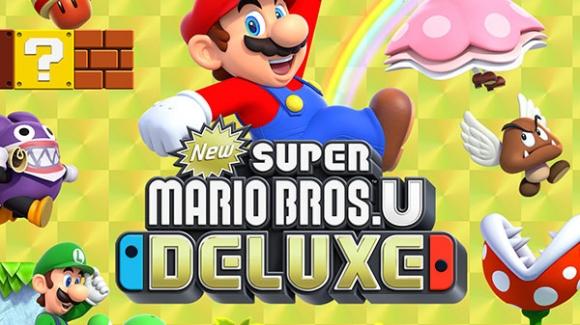 New Super Mario Bros U Deluxe!