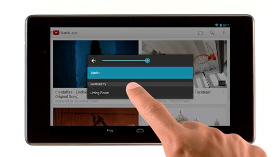 YouTube TV tabletlere geliyor!