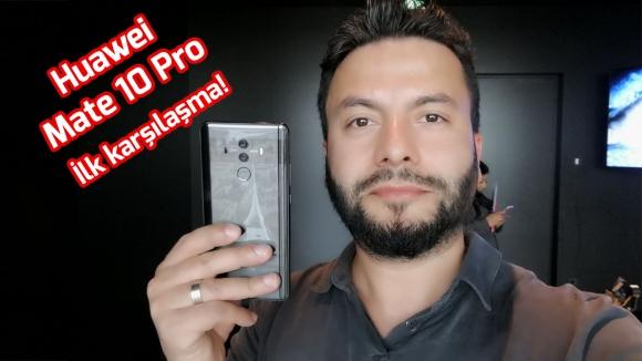 Huawei Mate 10 Pro ön inceleme