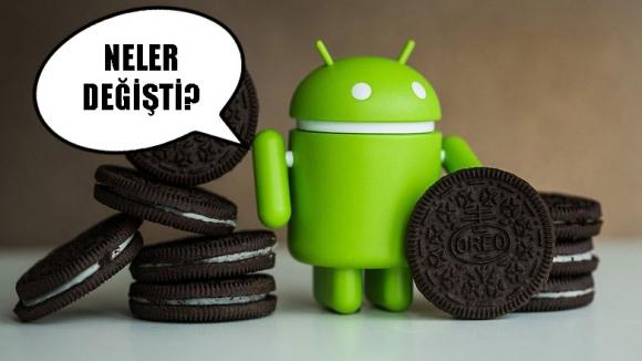 Android Oreo 8.1 yenilikleri!