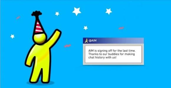 AOL Messenger Veda Ediyor!