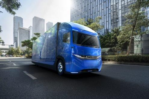 İlk elektrikli kamyon Tesla'dan önce tanıtıldı!