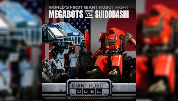 Dev robot savaşlarında ilk raunt gerçekleşti