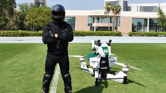 Dubai polisi hoverbike kullanıyor!
