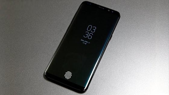 Samsung ekran içi parmak izi okuyucu patentini aldı!