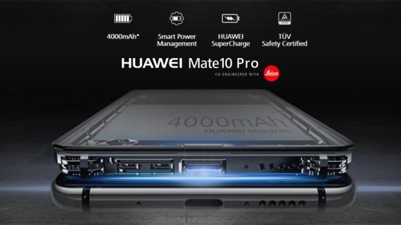 Huawei Mate 10 bataryası ile bir ilki gerçekleştiriyor!