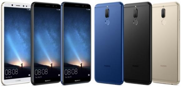 Huawei Mate 10 Lite tanıtıldı!
