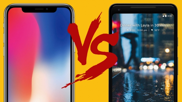 iPhone X ve Pixel 2 XL karşılaştırma!