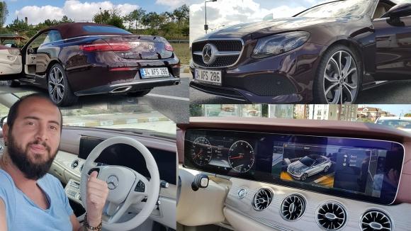 Mercedes yarı otonom araçları denedik! (vLog)