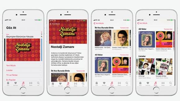 Apple Music'ten Nostalji severlere özel albümler!