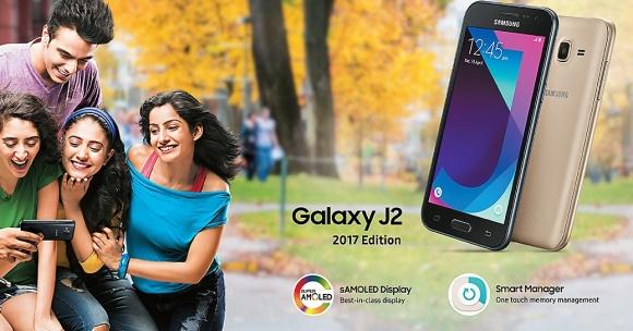 Samsung Galaxy J2 2017 tanıtıldı!