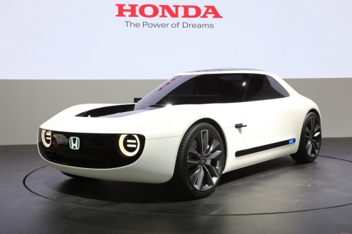Honda elektrikli spor konseptini tanıttı!