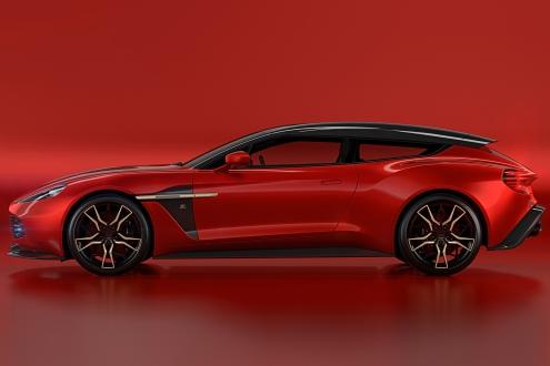 Aston Martin Vanquish Zagato ailesine yeni bir üye katıldı!