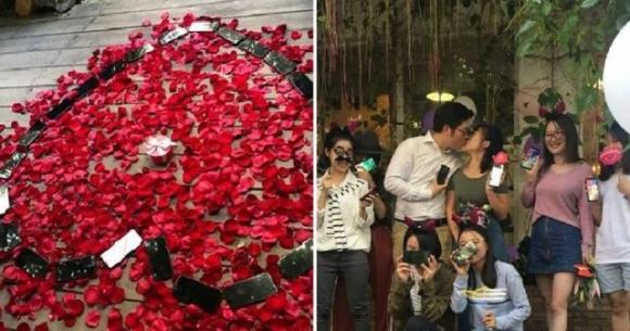 25 adet iPhone X ile evlilik teklif etti!