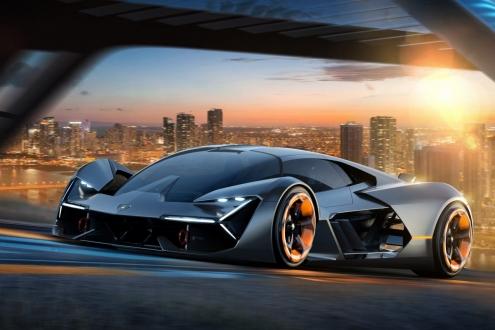 Lamborghini Terzo Millennio görücüye çıktı!