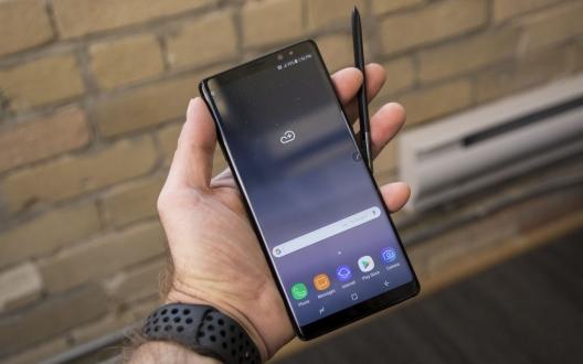 Galaxy Note 8 ilk güncellemesini aldı!