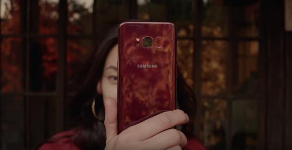 Burgonya kırmızısı Galaxy S8 tanıtıldı