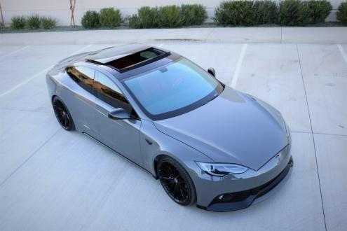 Tesla Model S baştan yaratıldı!