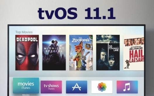 tvOS 11.1 yayınlandı!