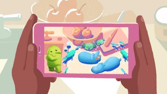 Android için 2018 artırılmış gerçeklik yılı olacak!