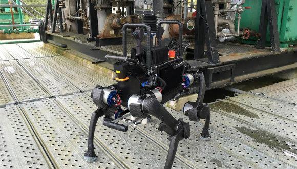 Anymal robot asansör kullanabiliyor!