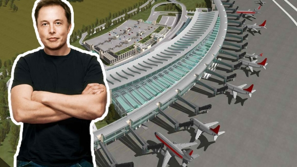 Elon Musk'tan 3. havalimanı için önemli girişim!