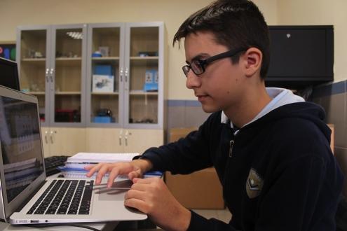 Ortaokul öğrencisinden Türkçe programlama dili!